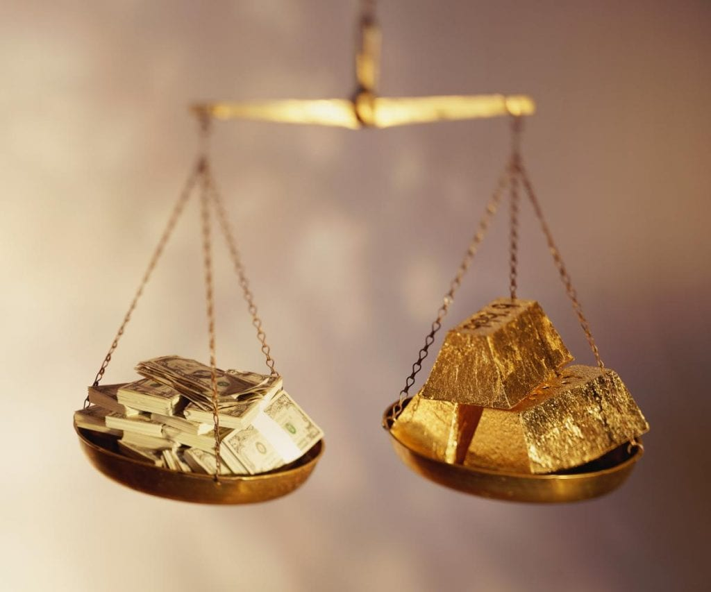 vesi dollars gold