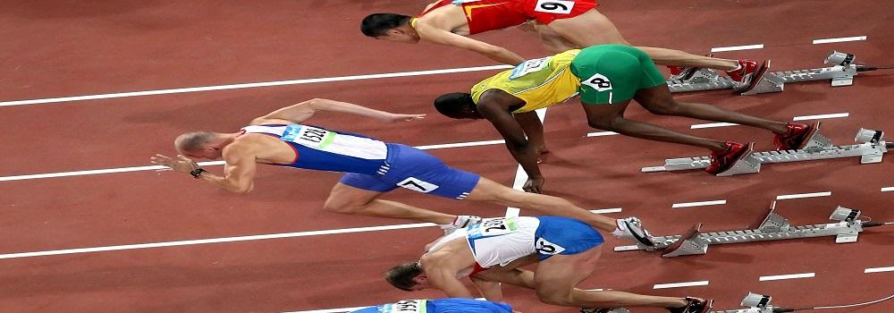 sportsmen na starte