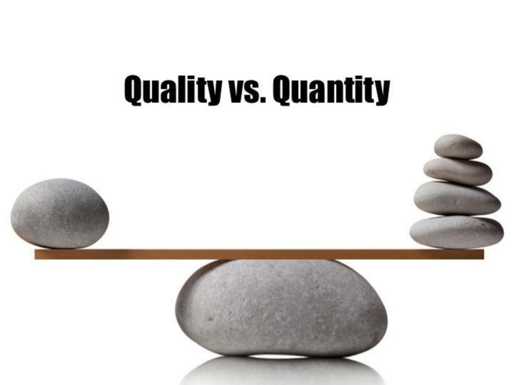 quality-quantity