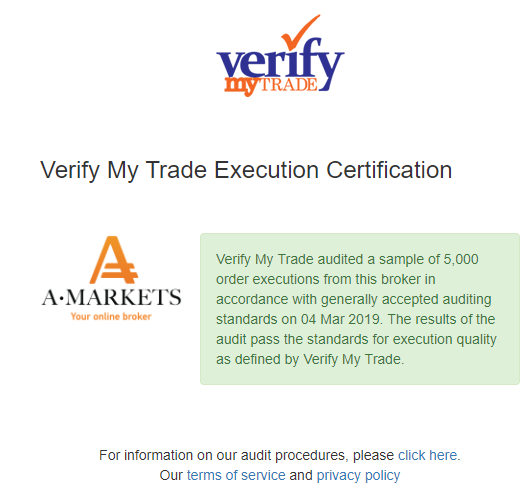 Аудит Verify My Trader