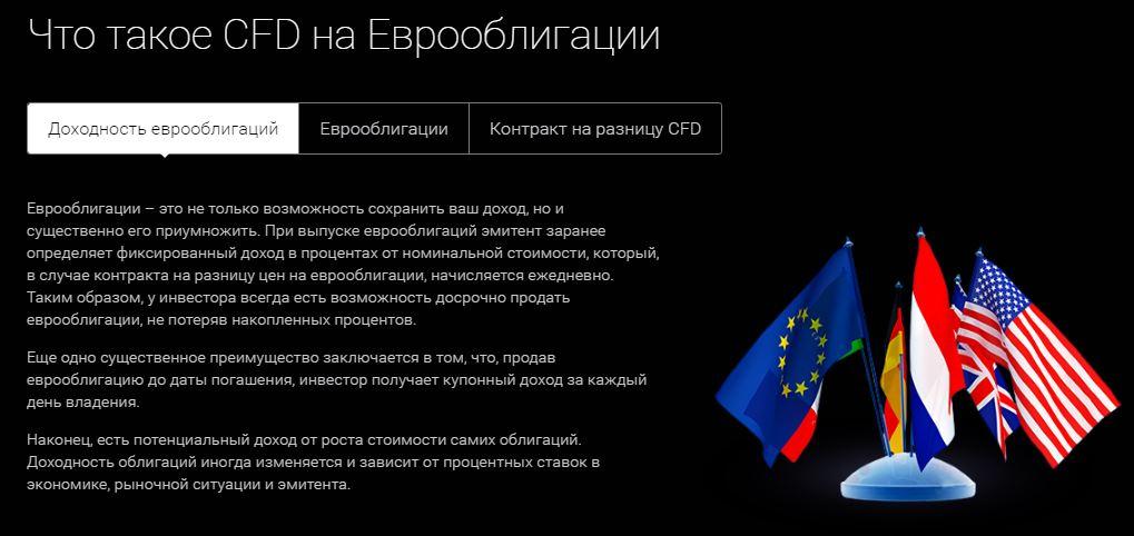 CFD evroobligacii