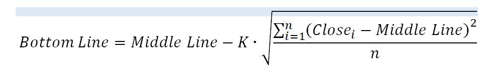 Формула для нижней границы BB