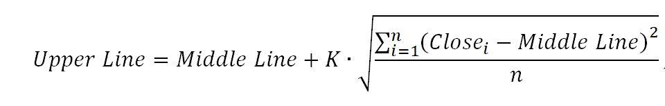 Формула для верхней границы BB