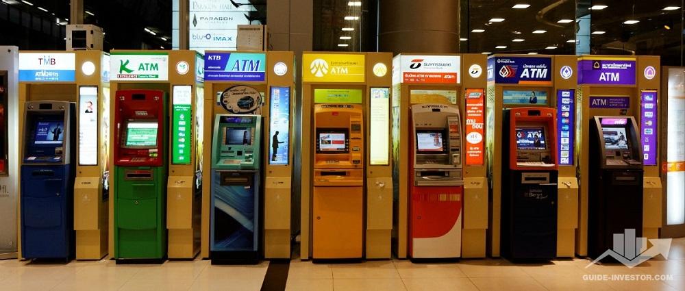 банкоматы за рубежом