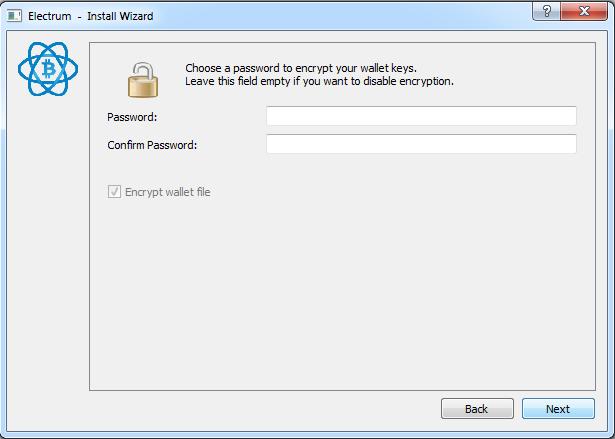 password electrum