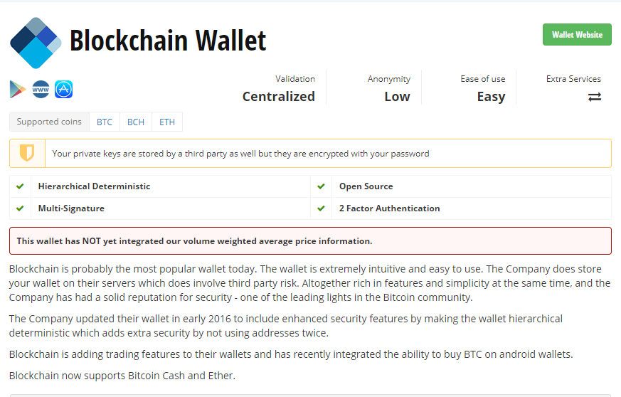 description wallet