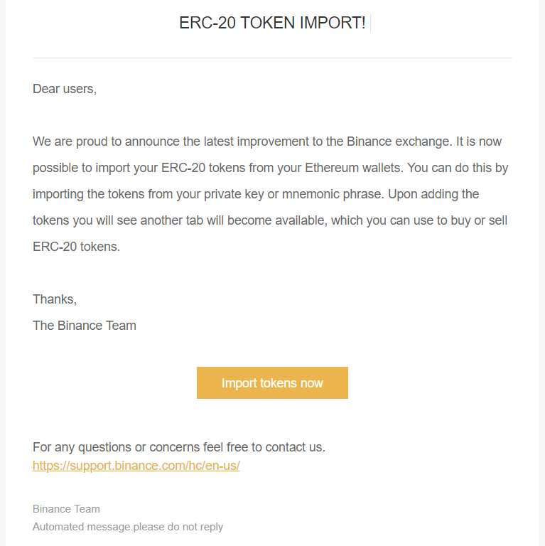binance fraud