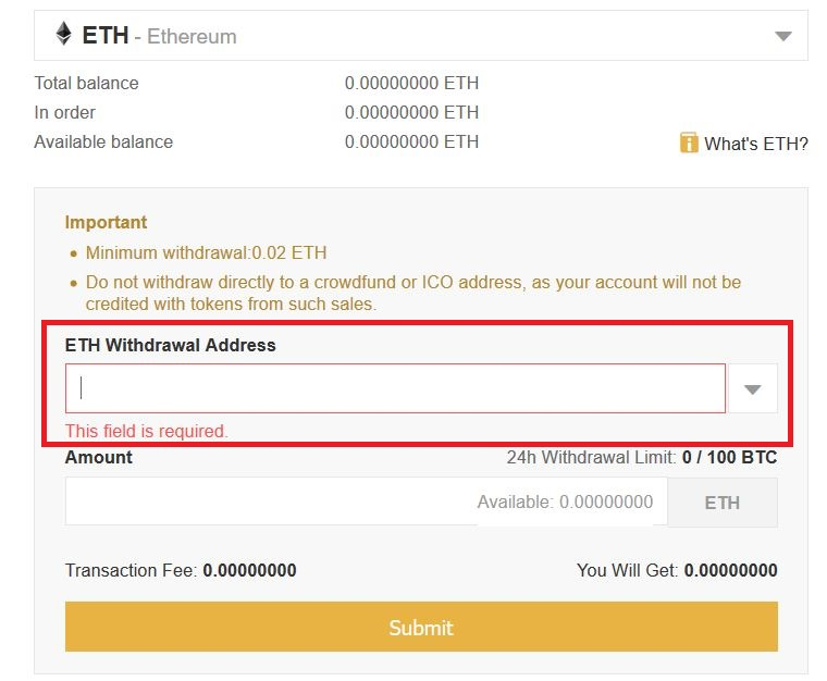 eth withdraw 3
