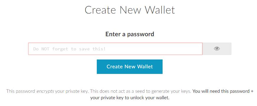 mew password