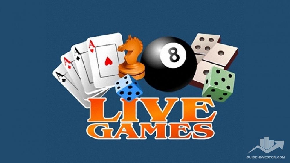livegames logo